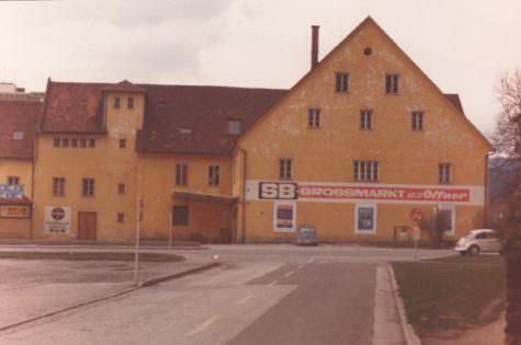 SB Großmarkt für Lebensmittel 1968
